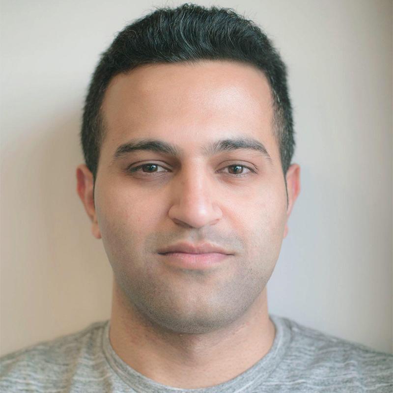 Hessam Daraei headshot.