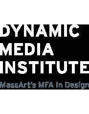 Dynamic Media Institute at Massachusetts College of Art and Design Logo